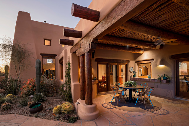 16 Cozy Southwestern Patio Designs For Outdoor Comfort on Patio Designs Images  id=39522