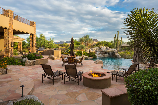 16 Cozy Southwestern Patio Designs For Outdoor Comfort on Backyard Patio Layout id=42399