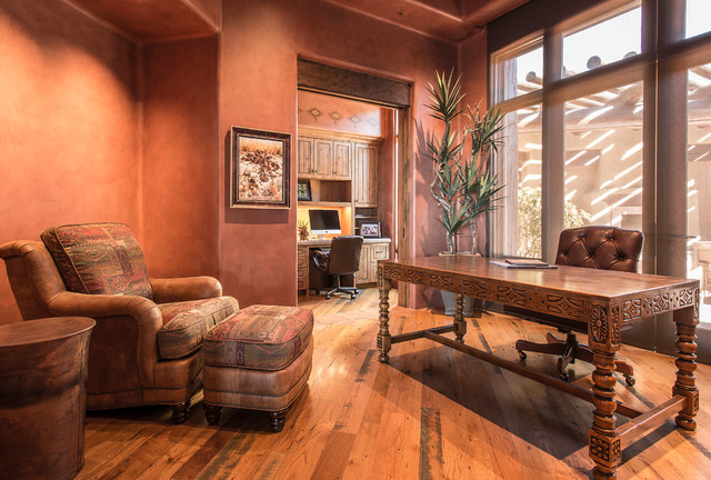 16 Encouraging Southwestern Home Office Designs Youll