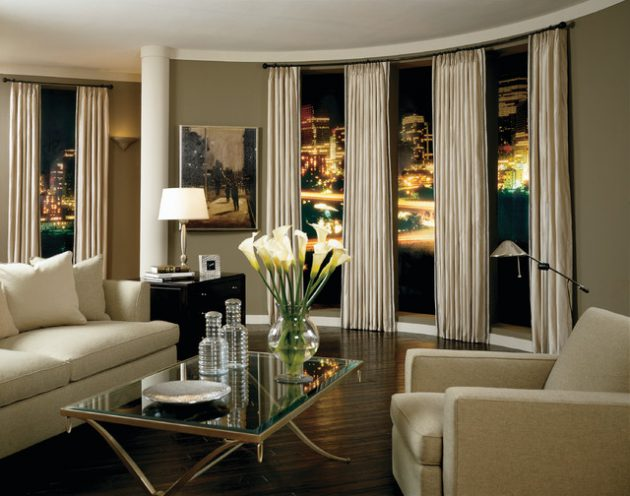 15 Beautiful Curtains Designs To Adorn Your Living Room on Living Room:5J0Grrq-Soy= Curtains Design  id=61263