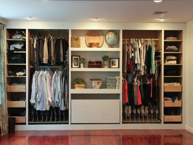17 Functional Ideas For Designing Small Wardrobe
