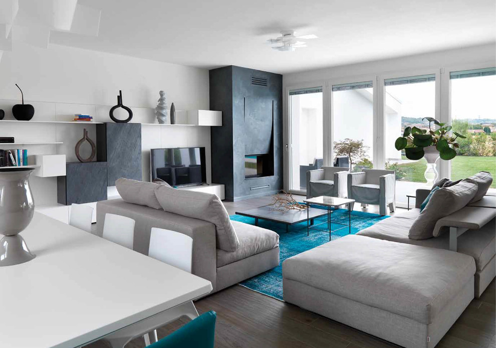 15 Beautiful Modern Living Room Designs Your Home ... on Photo Room Decor  id=69860