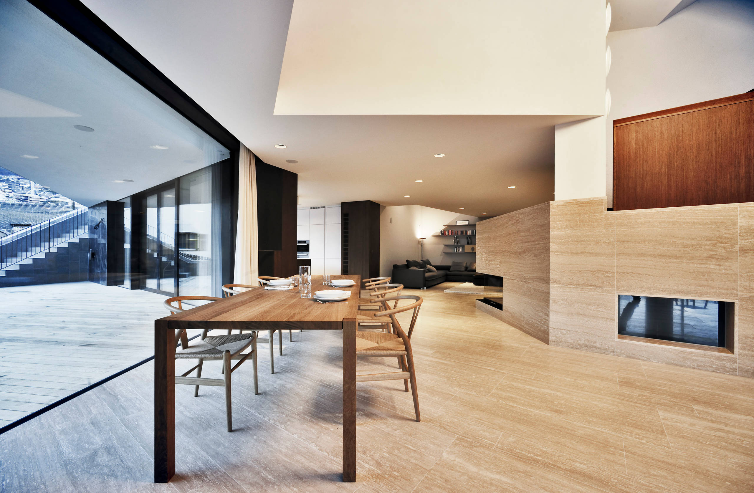 18 Outstanding Modern Dining Room Designs For Your Modern Home on Modern House Ideas Interior  id=21487