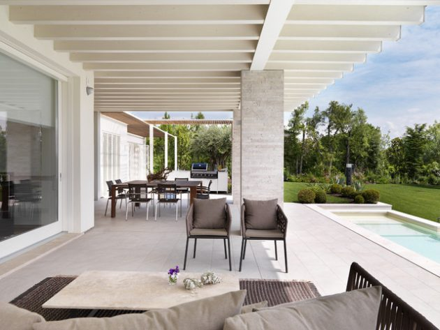 20 Immersive Contemporary Patio Designs That Will ... on Modern Backyard Patio Ideas  id=60060