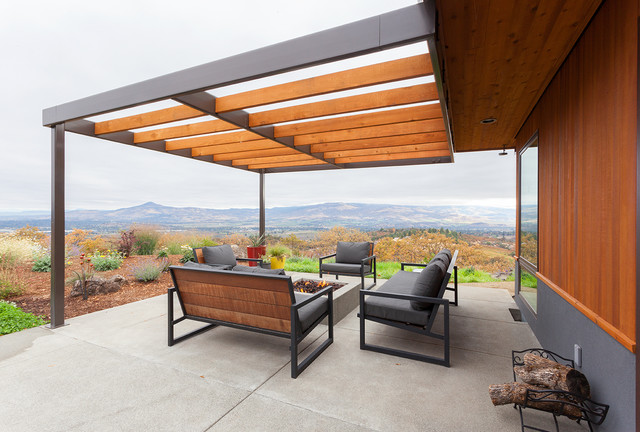 20 Immersive Contemporary Patio Designs That Will ... on Best Backyard Patio Designs  id=31493