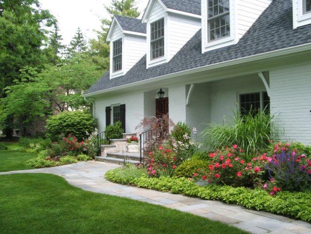 Front Landscape Design Plans