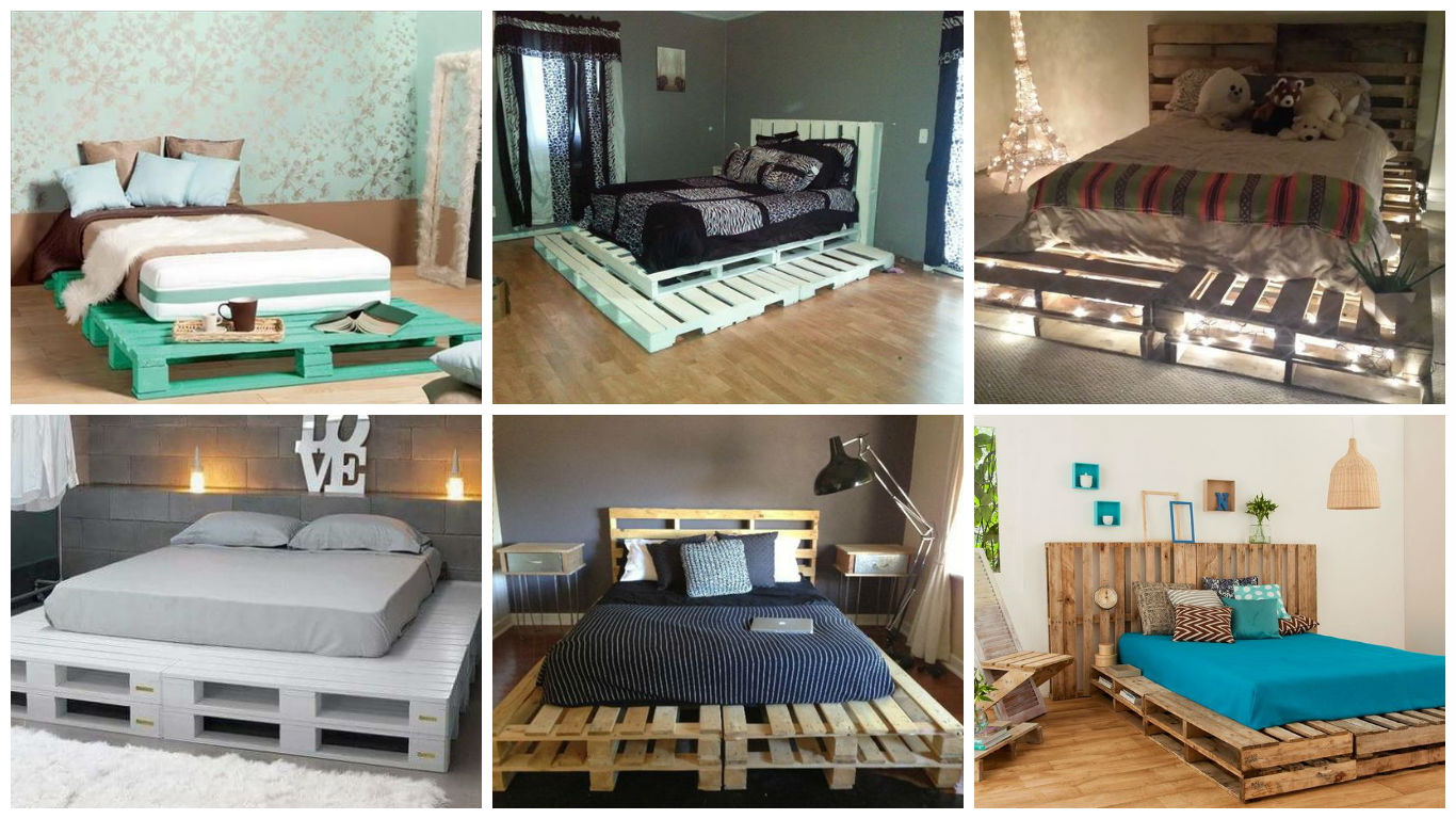 23 Really Fascinating DIY Pallet Bed Designs That Everyone ... on Pallet Design  id=17007