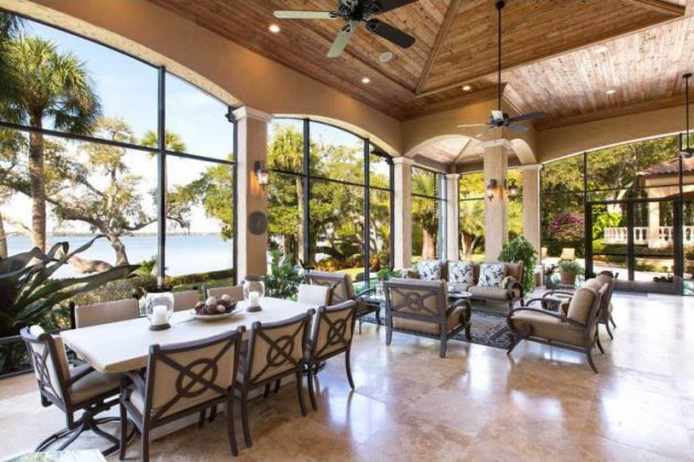 18 Remarkable Indoor Patio Designs For Utmost Enjoyment on Inclosed Patio Ideas  id=64111