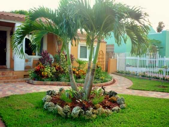 19 Exceptional Ideas To Decorate Your Landscape With Palm ... on Palm Tree Backyard Ideas id=24833