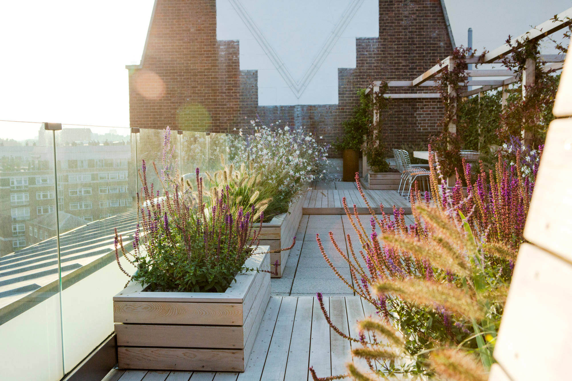16 Delightful Modern Landscape Ideas That Will Update Your ... on Contemporary Backyard  id=77156