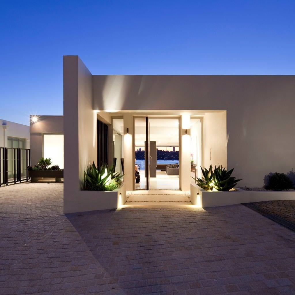 16 Enchanting Modern Entrance Designs That Boost The ... on Modern Entrance Design  id=63366