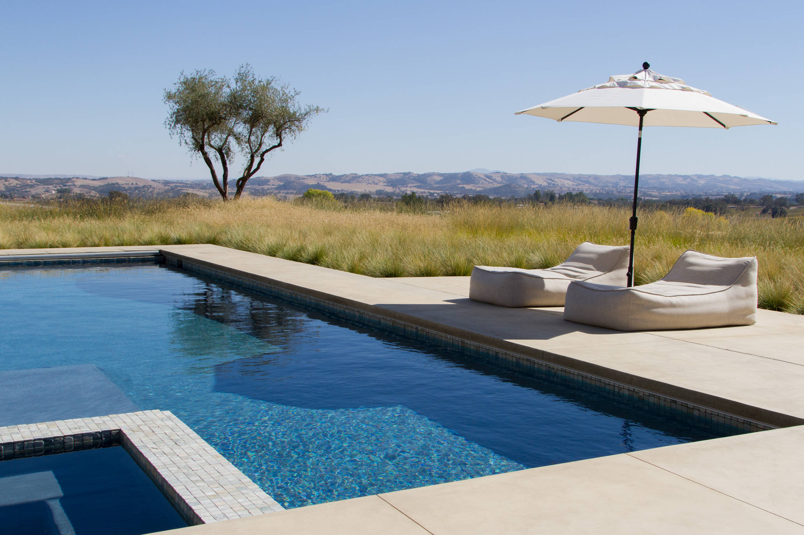 18 Dazzling Modern Swimming Pool Designs - The Ultimate ... on Modern Backyard Ideas With Pool id=15301