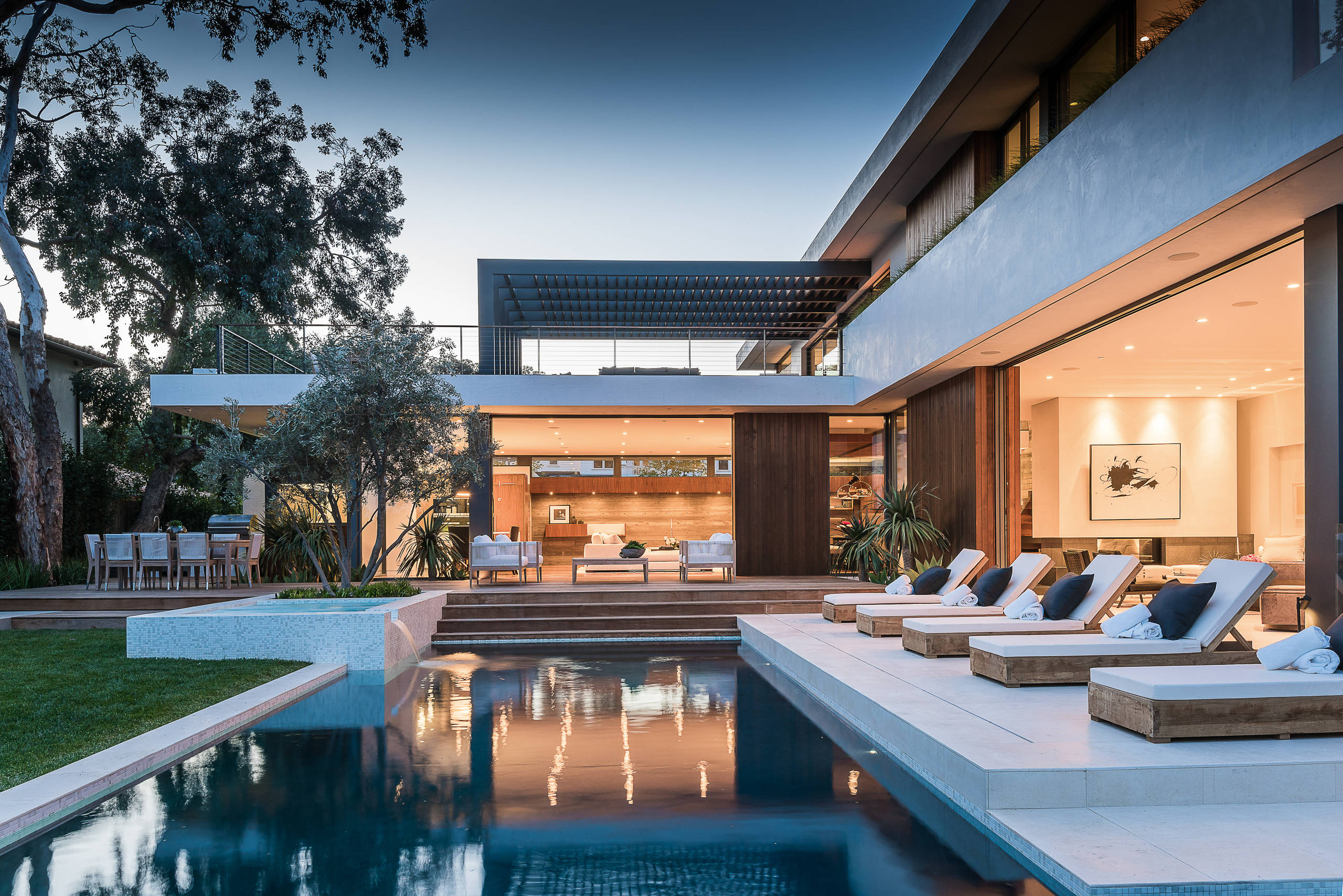 18 Dazzling Modern Swimming Pool Designs - The Ultimate ... on Modern Backyard Ideas With Pool id=21893