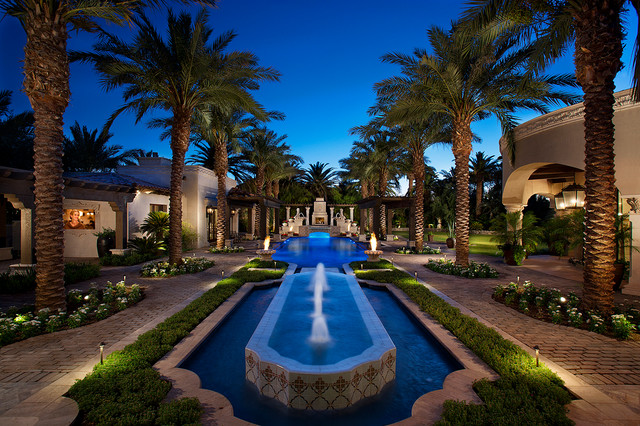 19 Exceptional Ideas To Decorate Your Landscape With Palm ... on Palm Tree Backyard Ideas id=13335
