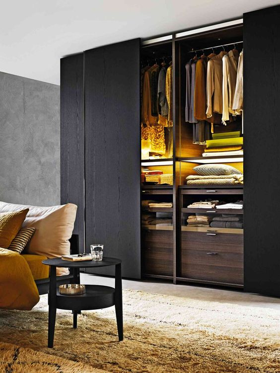 It's likely you and your guests will spend countless hours in this room, discussing and entertaining. 16 Magnificent Closet Designs With Sliding Doors