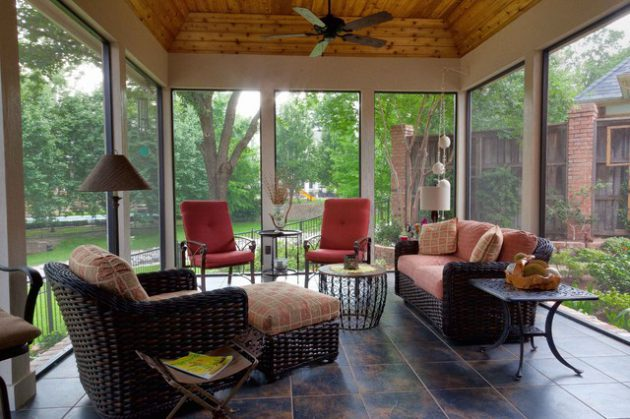 18 Remarkable Indoor Patio Designs For Utmost Enjoyment on Inclosed Patio Ideas  id=20723