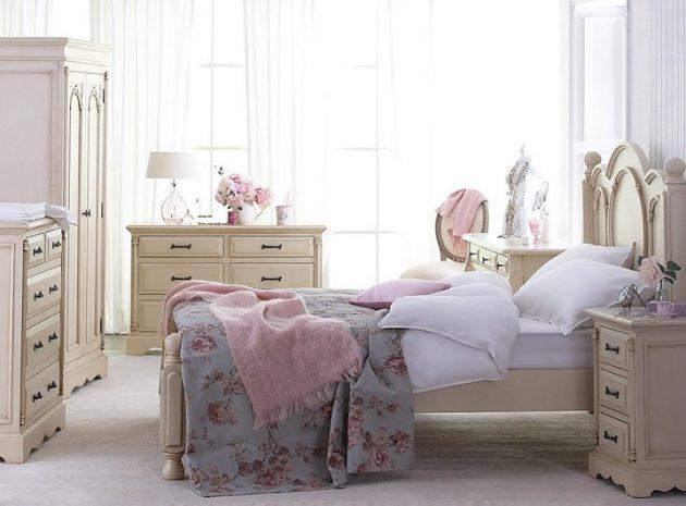 Tante idee, immagini e foto di letti bianchi, provenzali, country per una. 17 Spectacular Shabby Chic Bedroom Designs That You Re Gonna Love