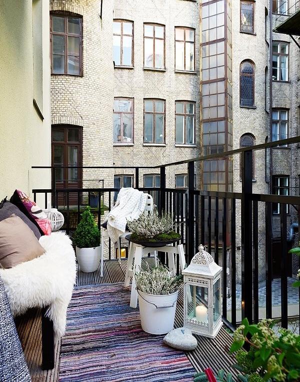 18 Fascinating Boho Chic Terrace Designs For Full