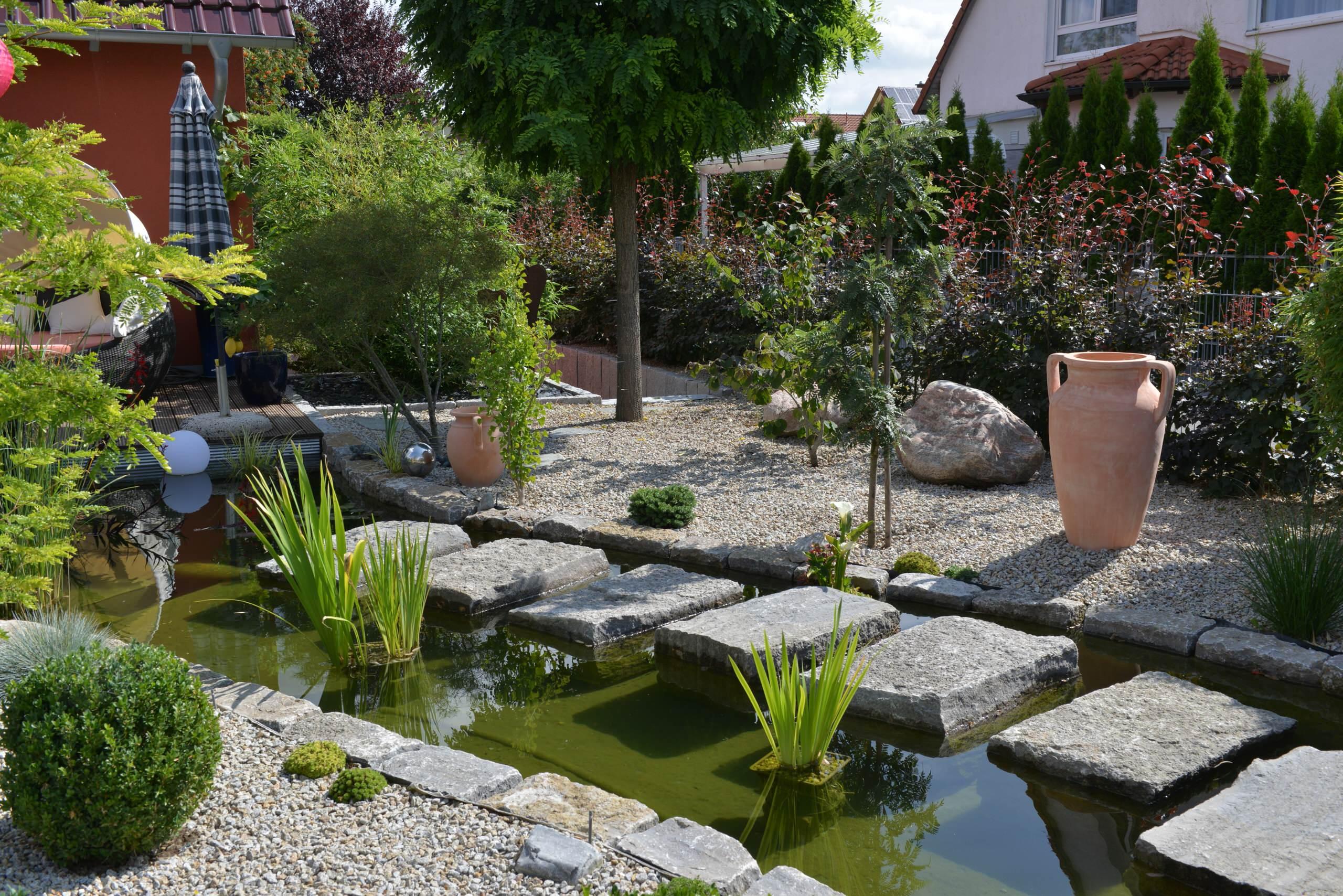 15 Refreshing Mediterranean Landscape Designs For A ... on Backyard Landscape  id=78227