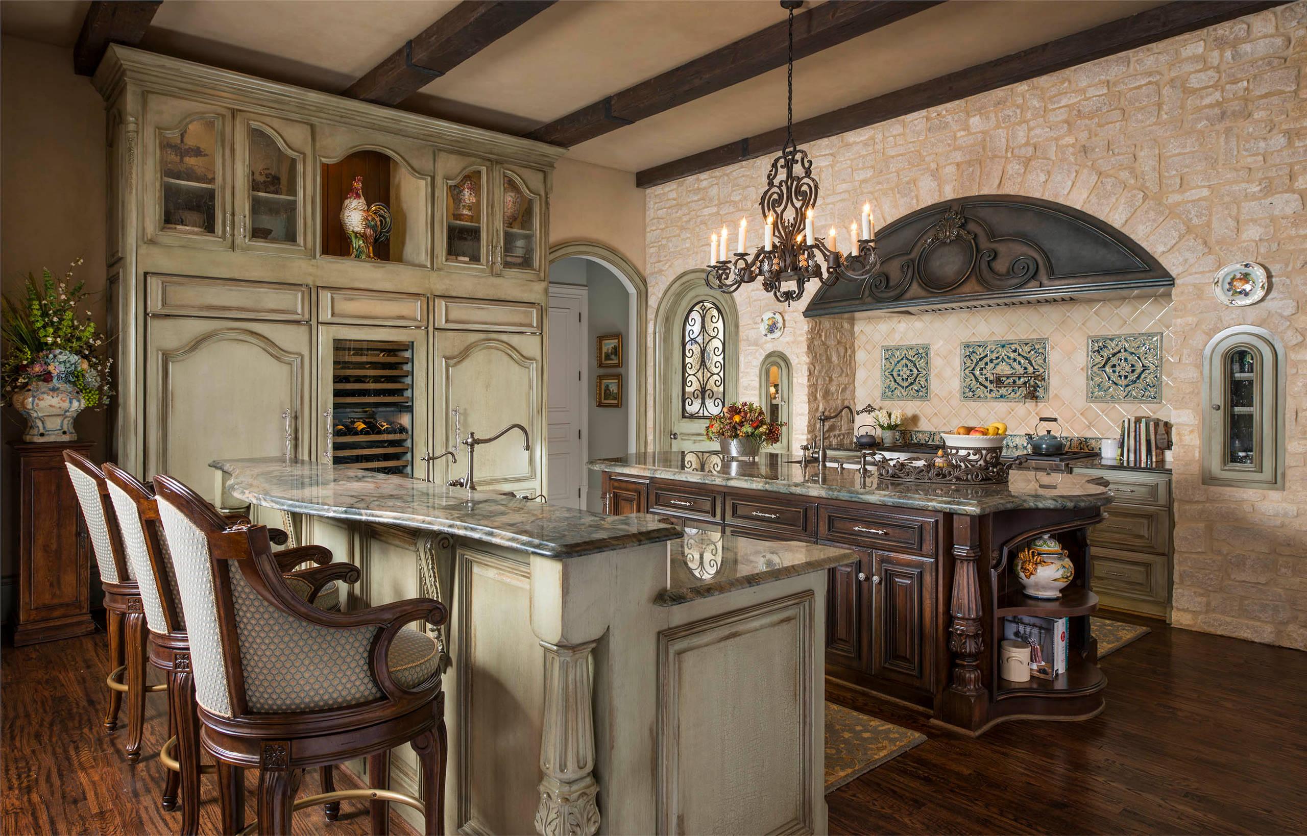 16 Charming Mediterranean Kitchen Designs That Will ... on Kitchen Renovation Ideas  id=13720