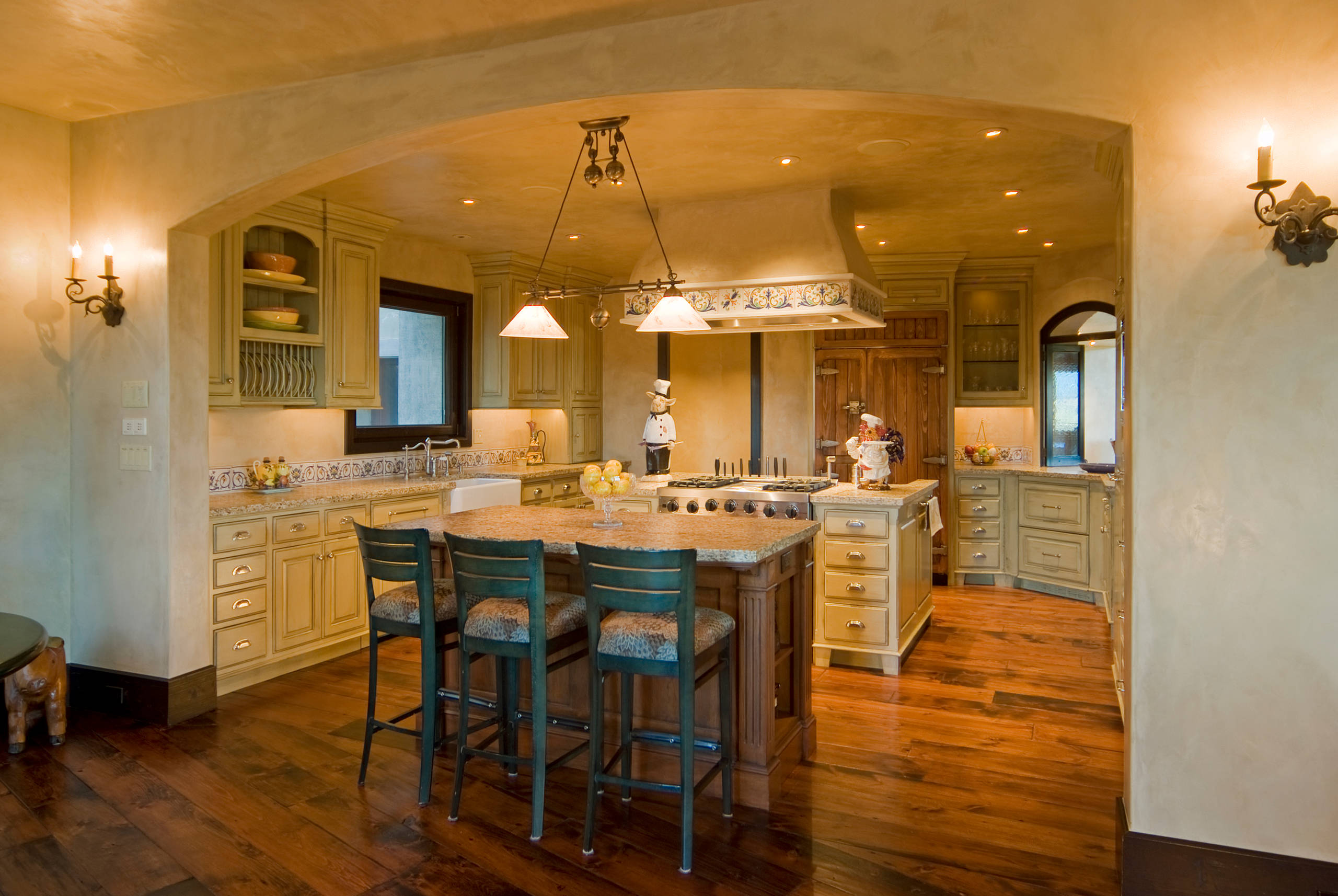 Country Kitchen Plans Designs