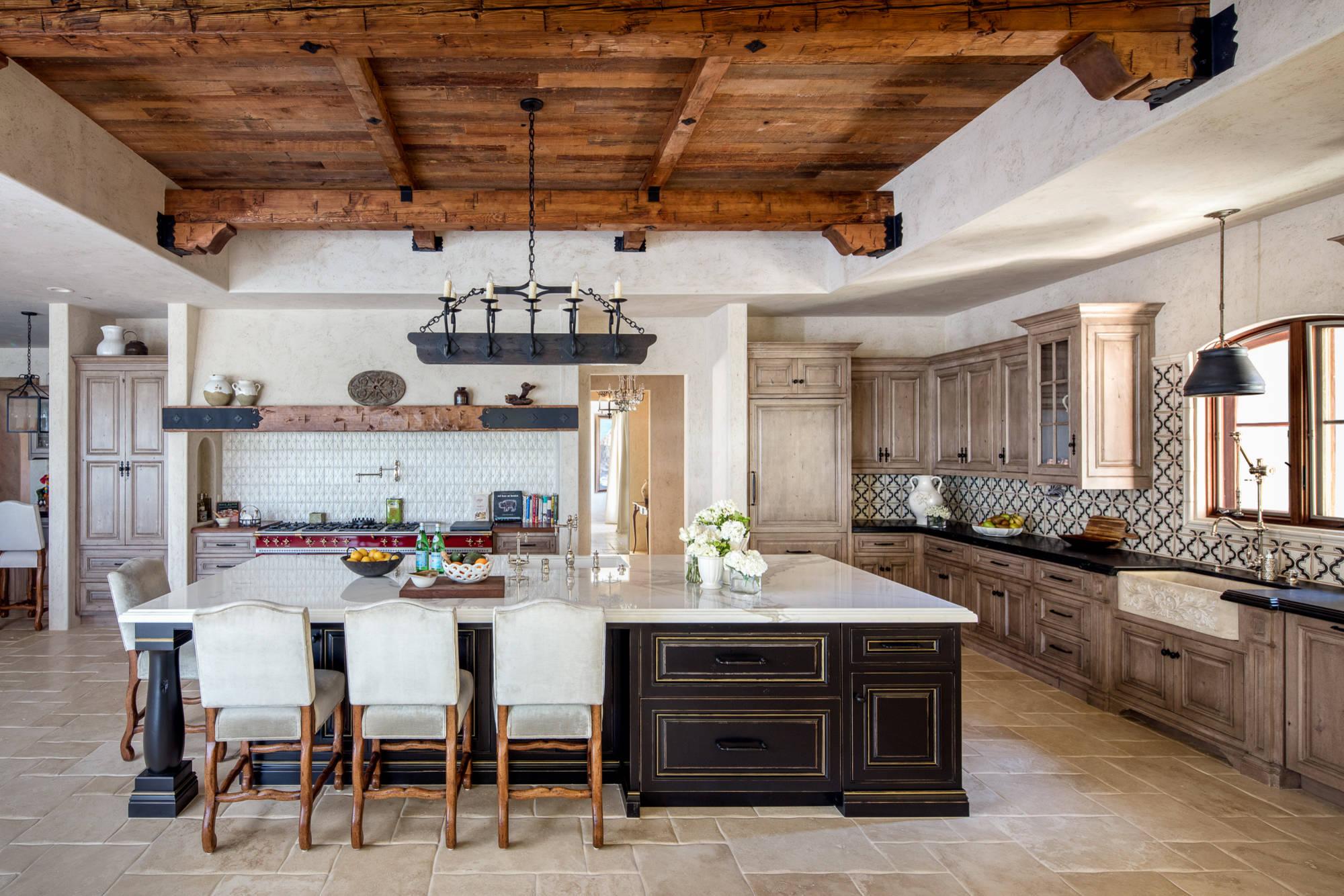 16 Charming Mediterranean Kitchen Designs That Will ... on Kitchen Renovation Ideas  id=72712
