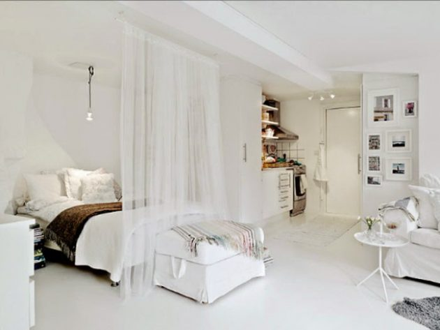 Small Apartment Bedroom Designs That