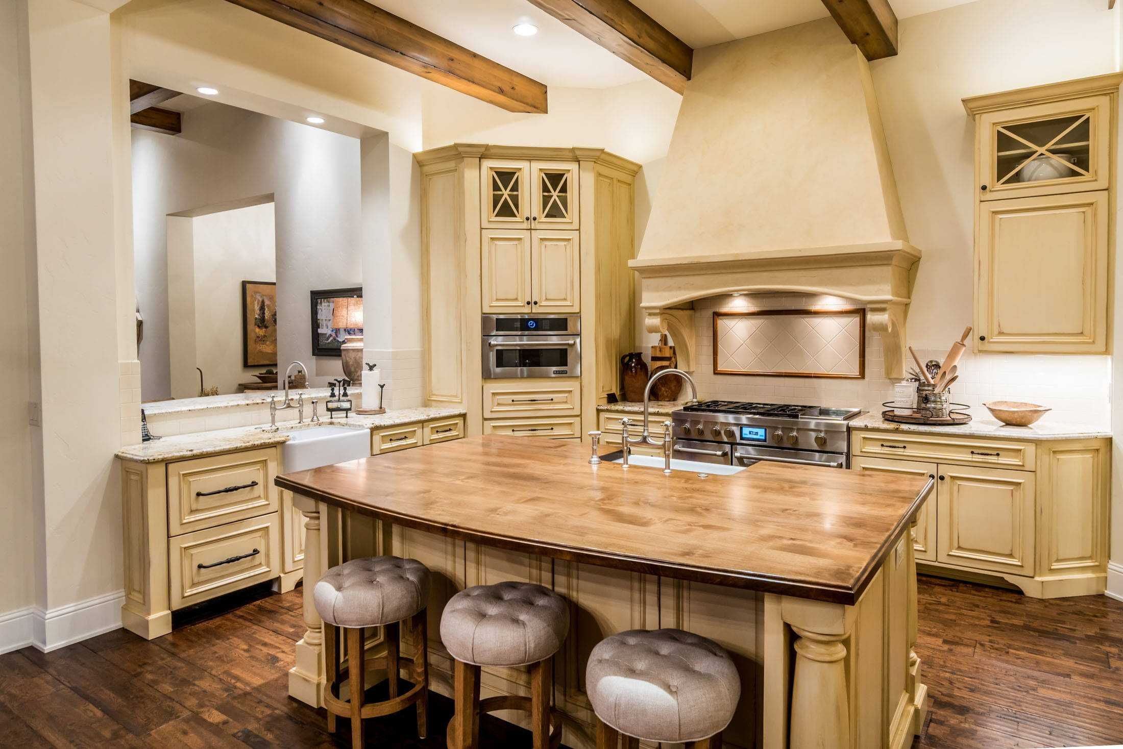 15 Inspirational Rustic Kitchen Designs You Will Adore on Model Kitchen Images  id=71369