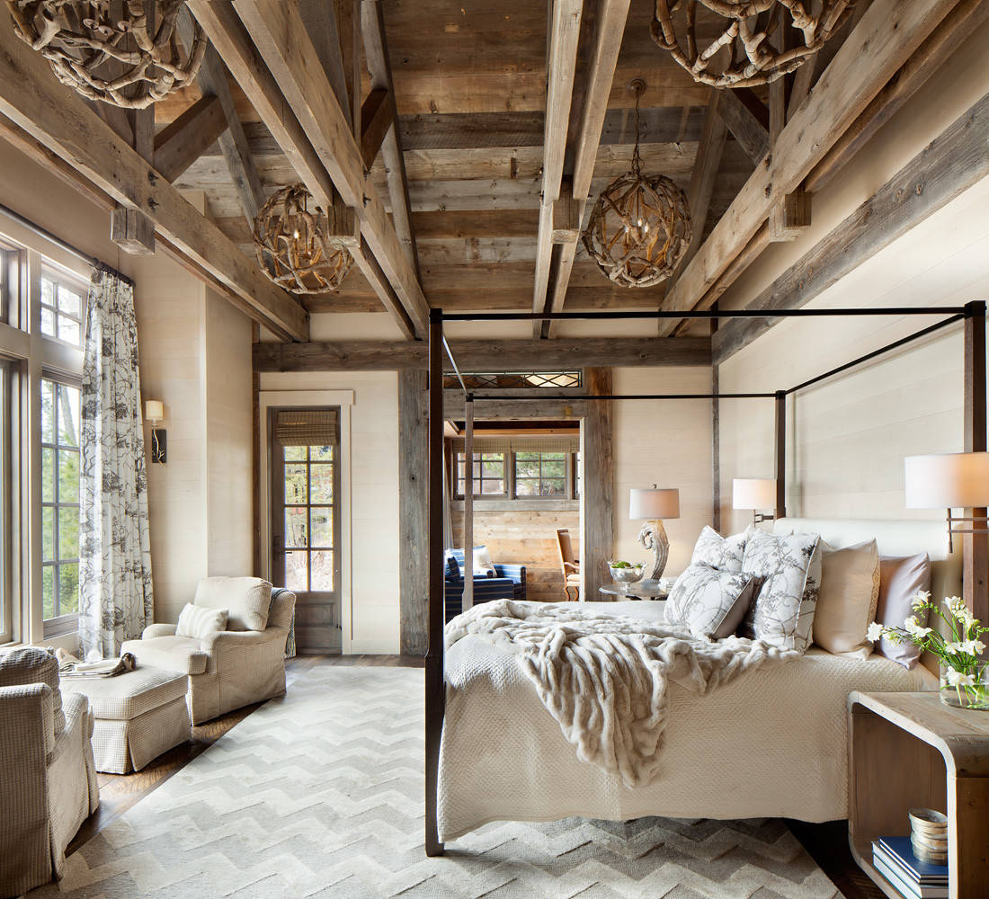 15 Wicked Rustic Bedroom Designs That Will Make You Want Them on Room Decore  id=69997