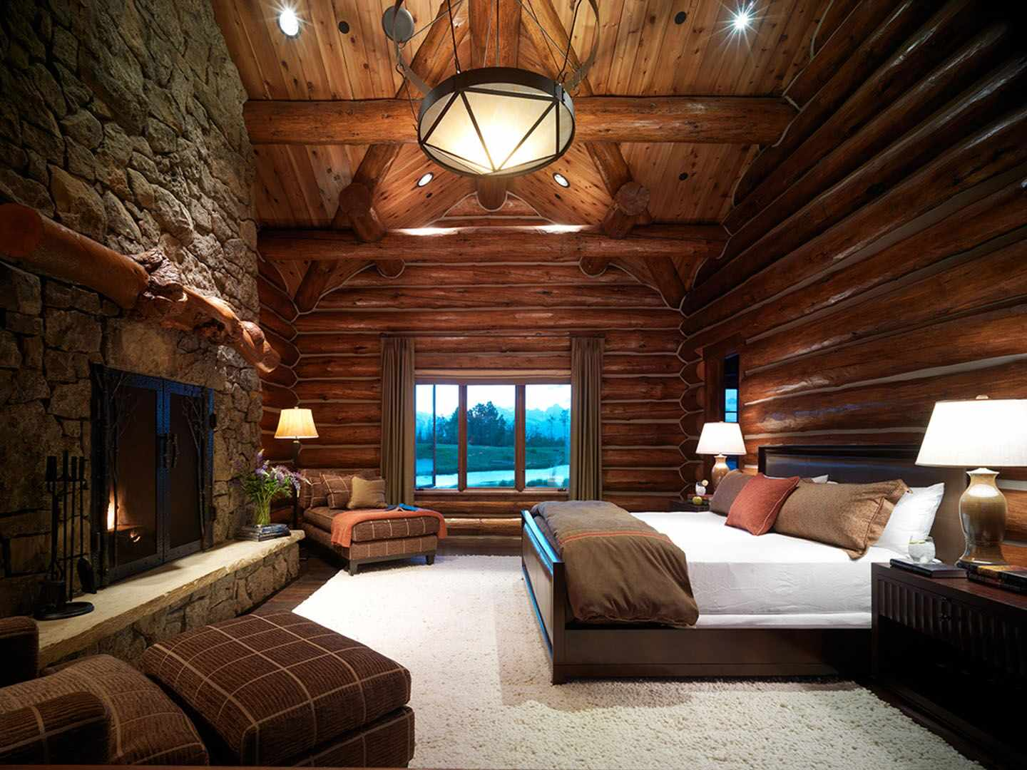 15 Wicked Rustic Bedroom Designs That Will Make You Want Them on Room Ideas For Small Rooms  id=49905
