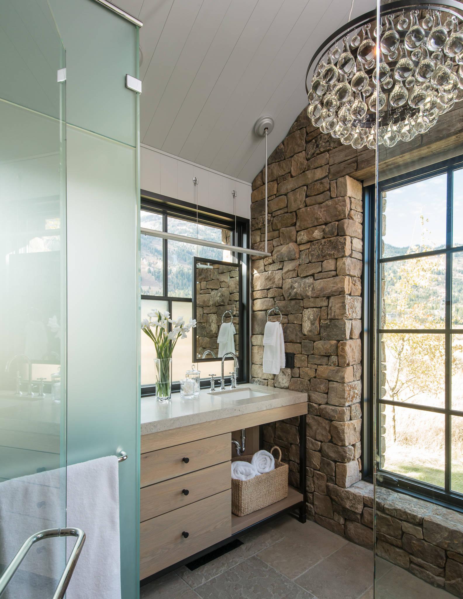 16 Fantastic Rustic Bathroom Designs That Will Take Your ... on Restroom Ideas  id=39213