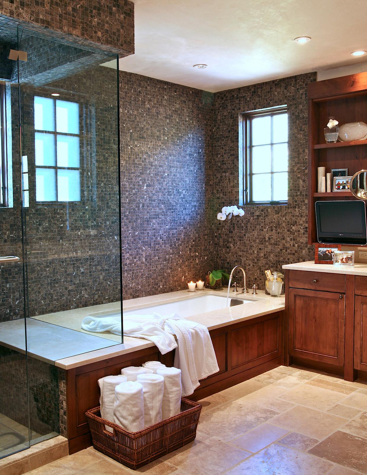 16 Fantastic Rustic Bathroom Designs That Will Take Your ... on Restroom Ideas  id=38108