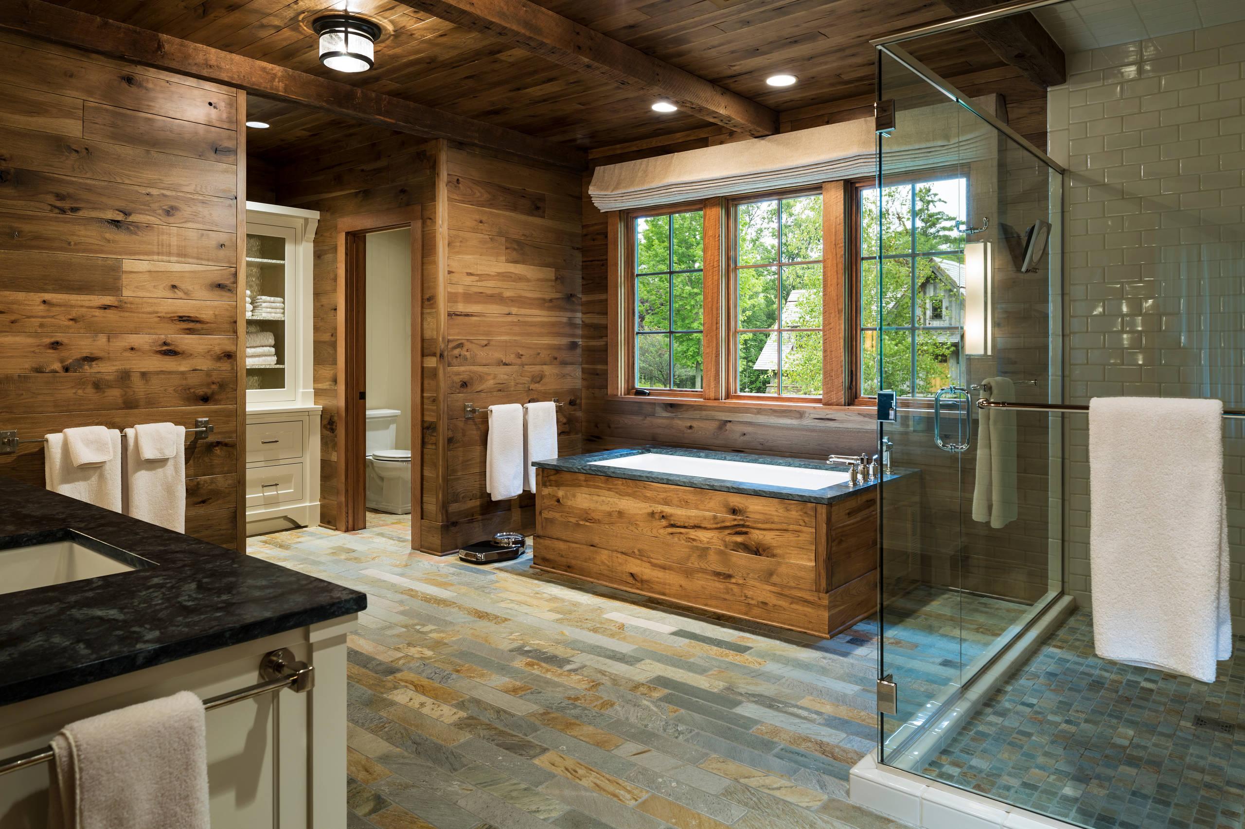 16 Fantastic Rustic Bathroom Designs That Will Take Your ... on Restroom Ideas  id=95137