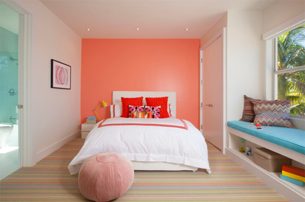 magnificent bedrooms designs with peach walls