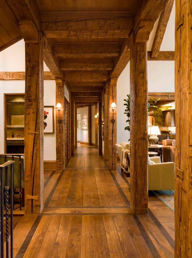 15 Great Rustic Hallway Designs That Will Inspire You With