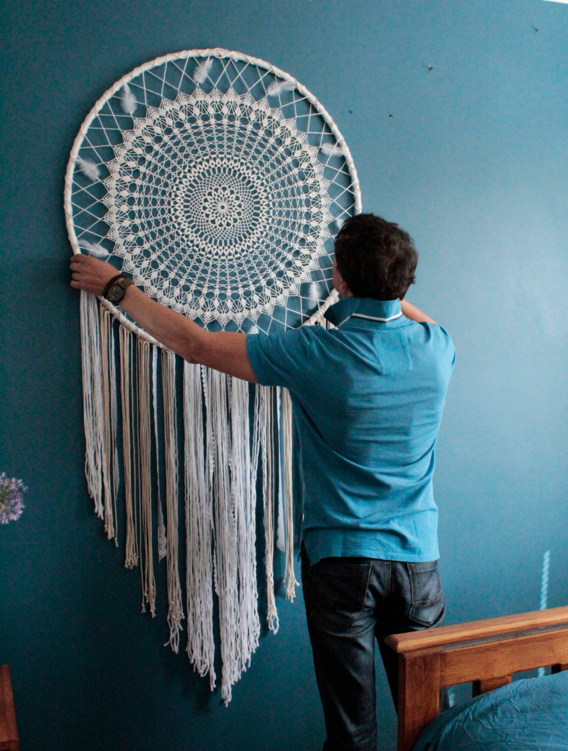 20 Creative Ways To Decorate Your Home With Unexpected ... on Creative Wall Decor  id=33184
