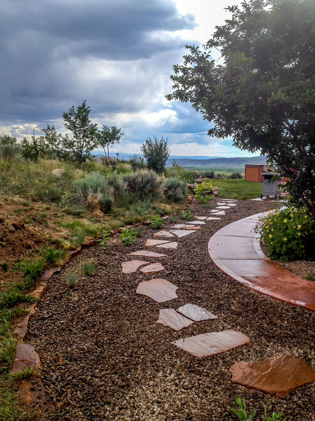15 Stunning Rustic Landscape Designs That Will Take Your ... on Landscape Design Ideas  id=86767
