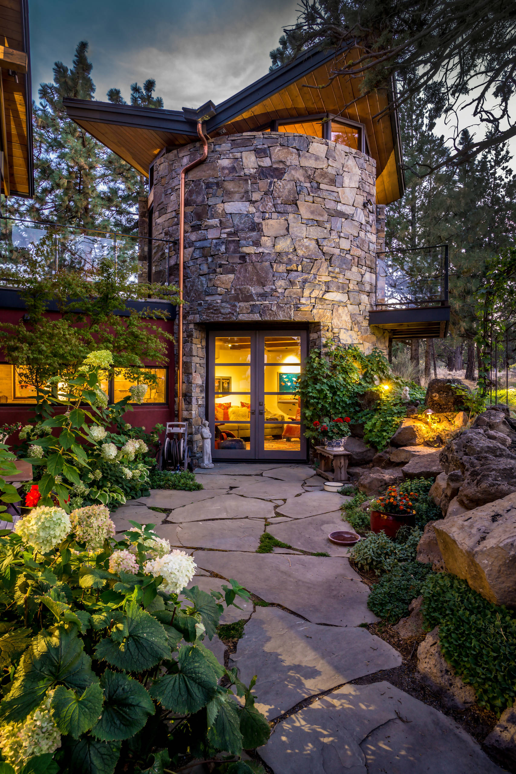 15 Stunning Rustic Landscape Designs That Will Take Your ... on Landscape Design Ideas  id=25386