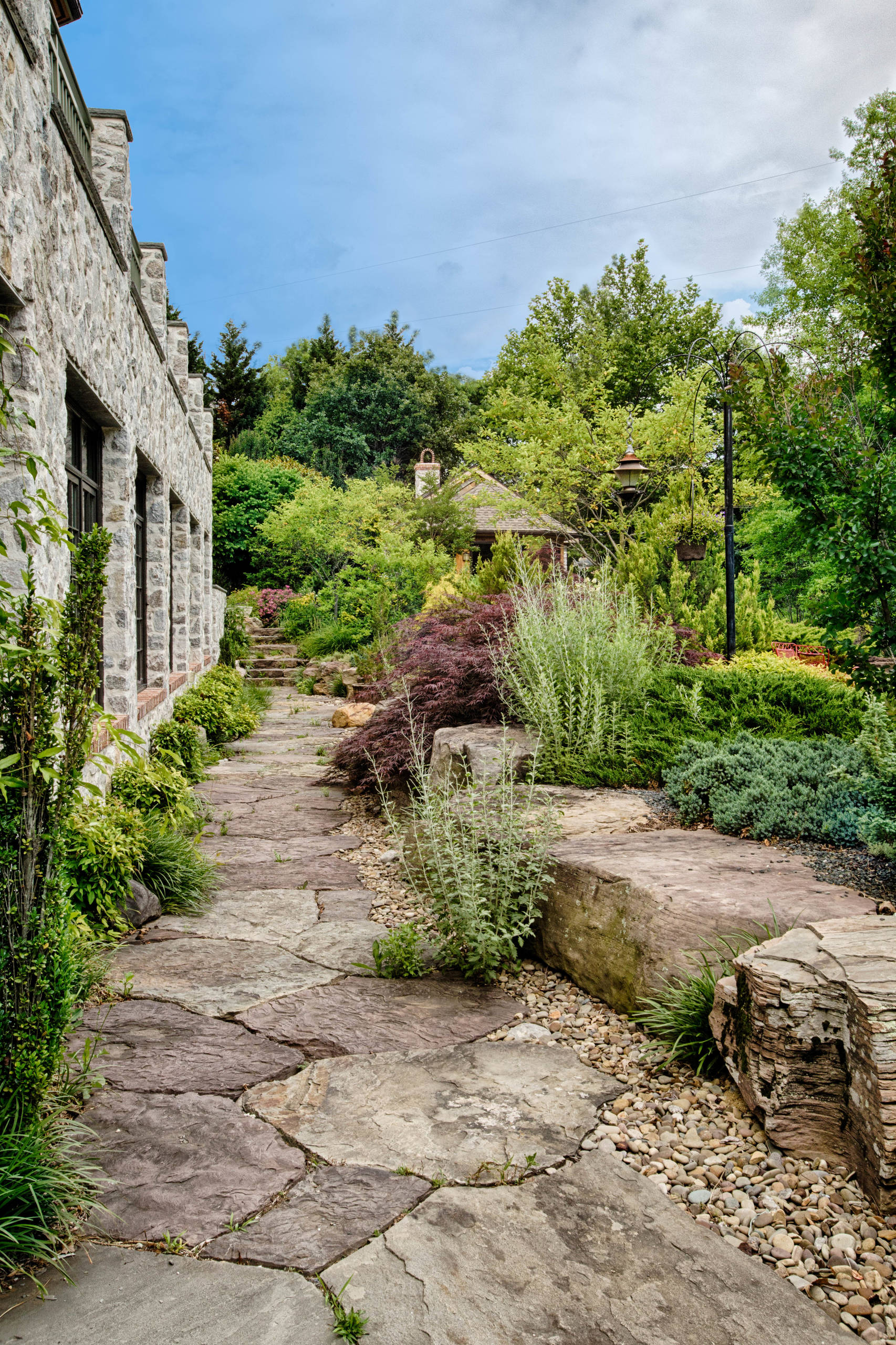 15 Stunning Rustic Landscape Designs That Will Take Your ... on Landscape Design Ideas  id=42725