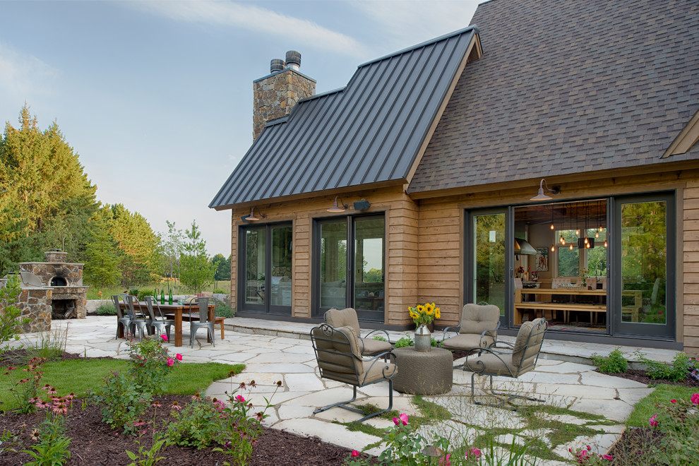 16 Magical Rustic Patio Designs That You Will Fall In Love ... on Patio Designs  id=58390