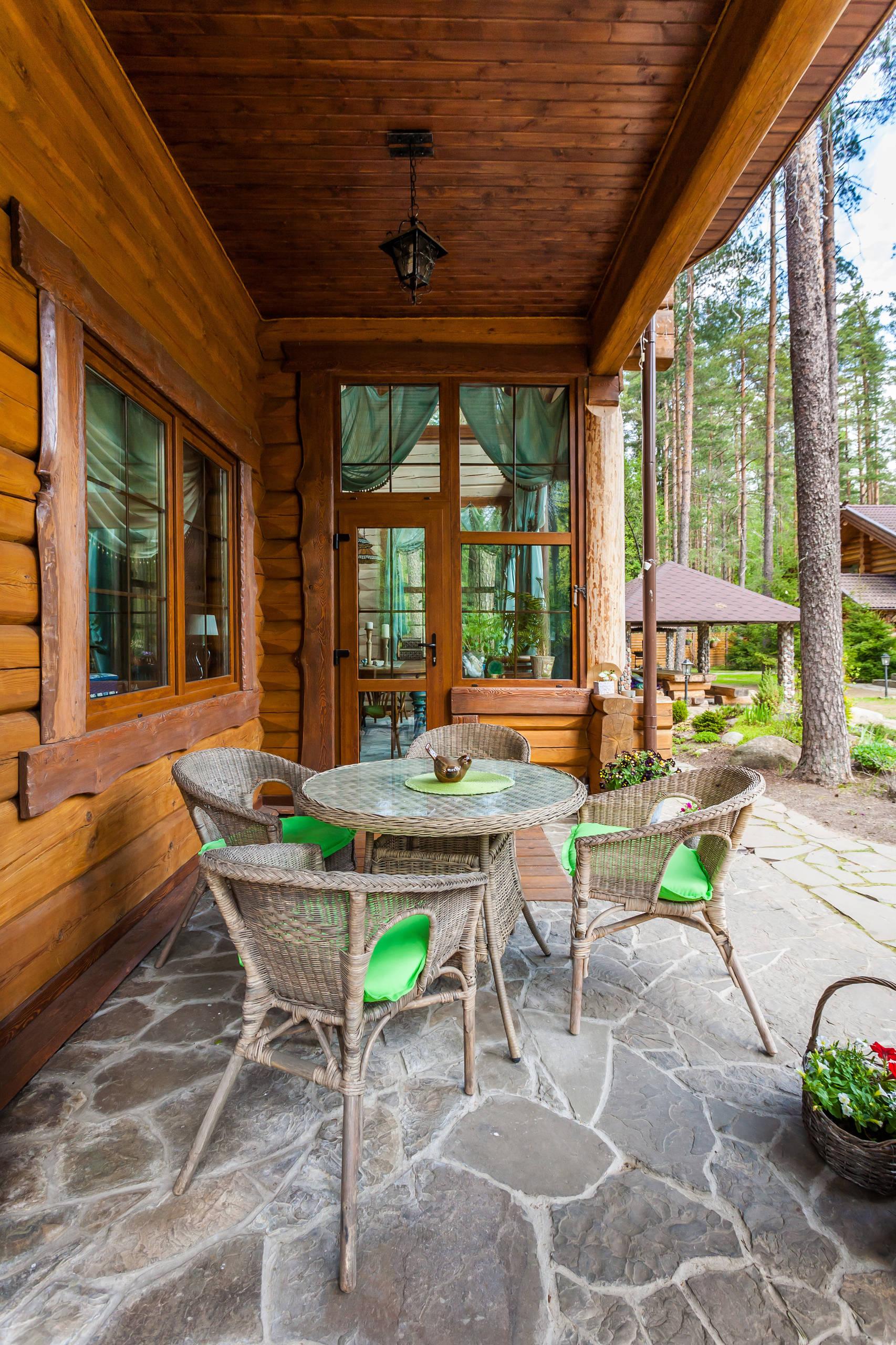 Timber Porch Posts