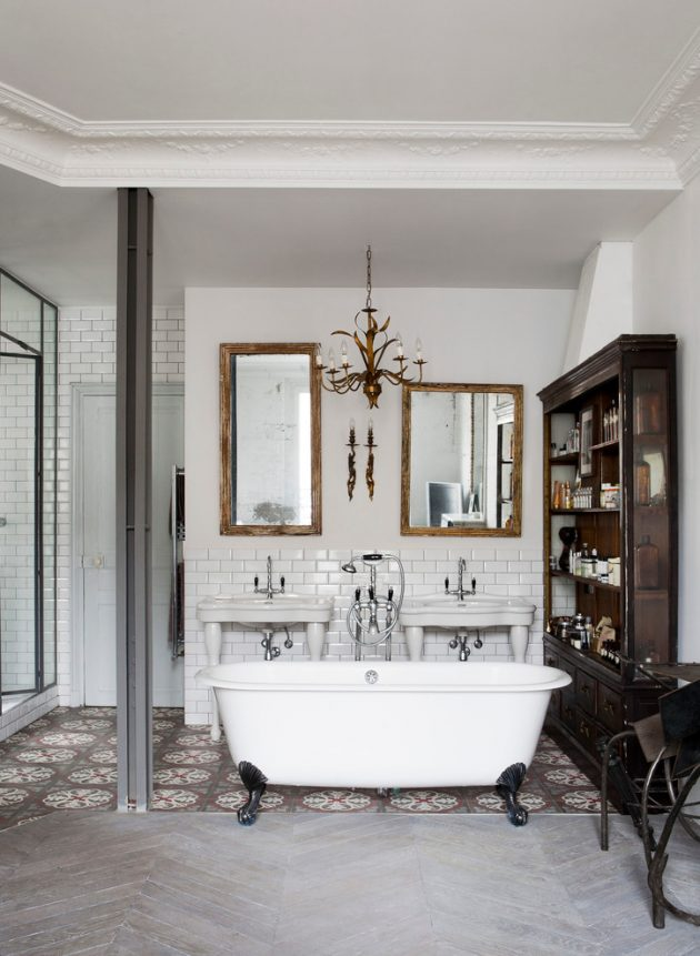 15 Magnificent Eclectic Bathroom Designs That Are Full Of