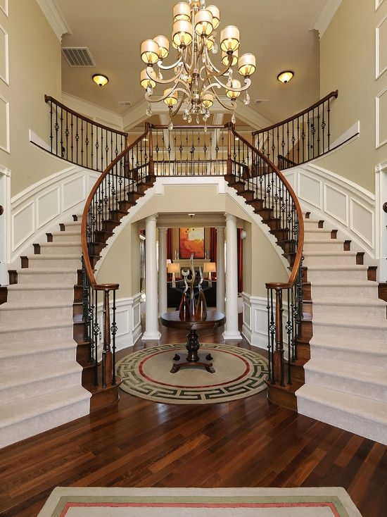 19 Excellent Ideas For Decorating Entrance Staircase With Luxury Touch   Home Entrance Stairs Design   Interior   Bedroom Home Kerala   Garden   Architecture   Fancy House