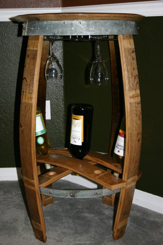 18 Incredible Handmade Barrel Furniture Designs You Ll