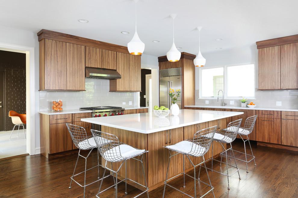 15 Beautiful Mid-Century Modern Kitchen Interior Designs on Modern Kitchen Design Ideas  id=32545