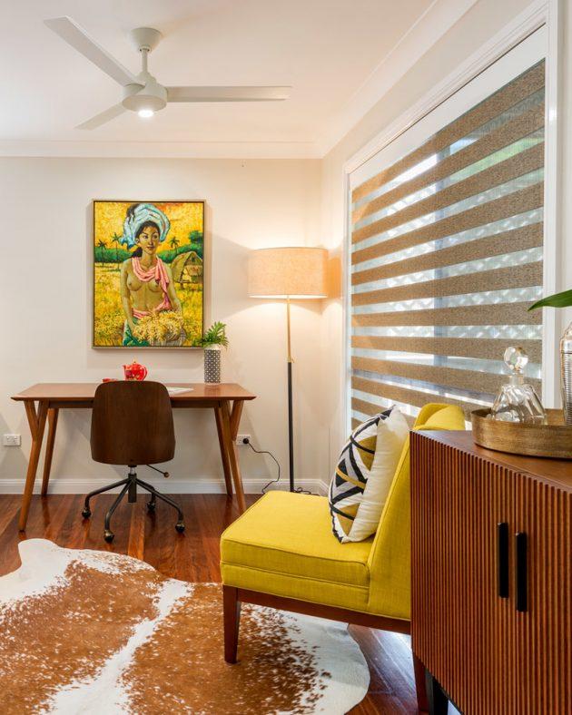 15 Inspirational Mid Century Modern Home Office Designs