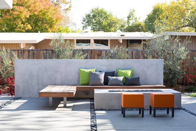 16 Extraordinary Mid-Century Modern Patio Designs You'll ... on Mid Century Modern Patio Ideas id=52783