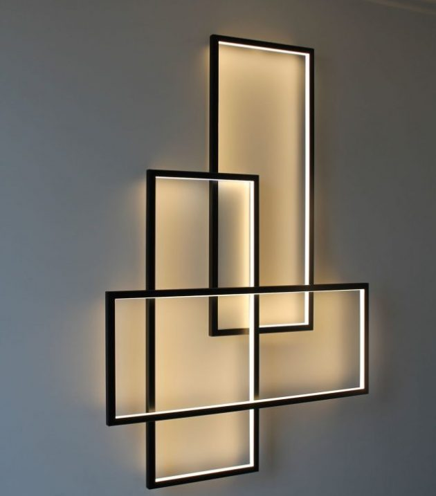 14 Alluring Wall LED Light Designs To Enhance Your ... on Led Interior Wall Sconces id=64596