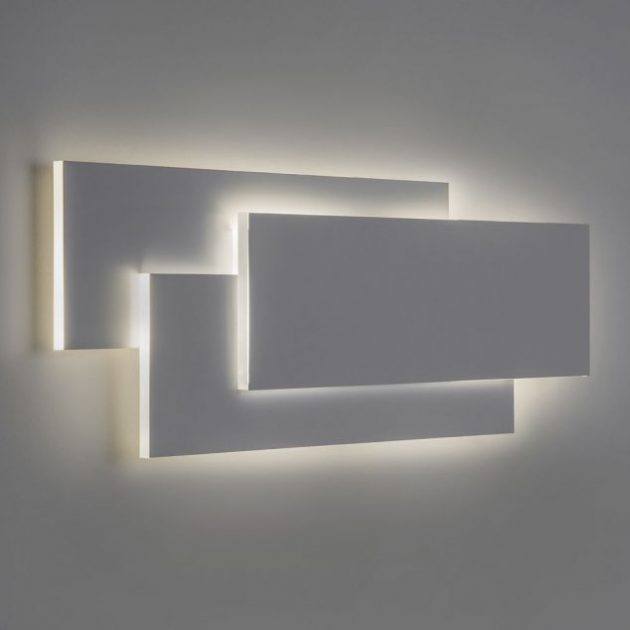 14 Alluring Wall LED Light Designs To Enhance Your ... on Led Interior Wall Sconces id=68094