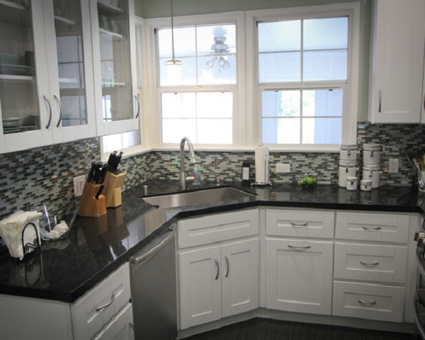 18 Space-Saving Corner Sink Ideas That Are Ideal For Small ... on Kitchen Sink Ideas  id=28822